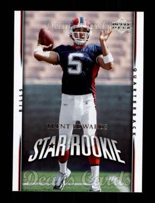 2007 Upper Deck #212  Trent Edwards