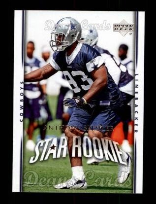 2007 Upper Deck #224  Anthony Spencer