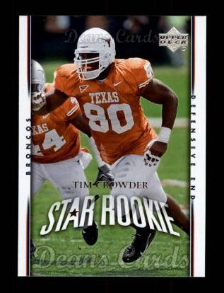 2007 Upper Deck #226  Tim Crowder