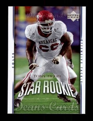 2007 Upper Deck #232  Tony Ugoh