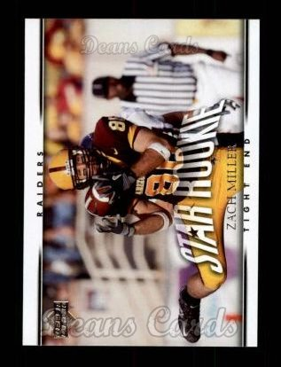 2007 Upper Deck #248  Zach Miller