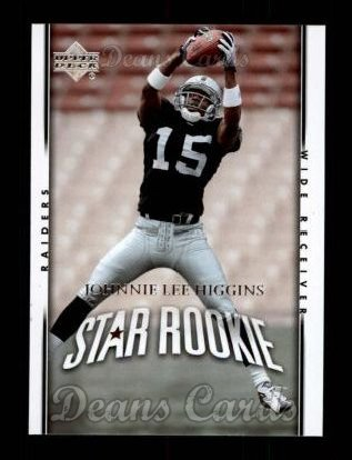 2007 Upper Deck #249  Johnnie Lee Higgins