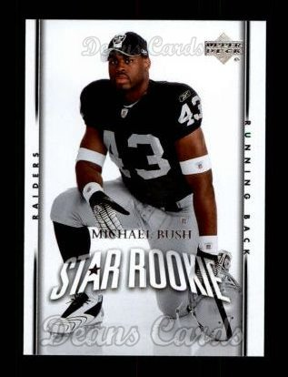 2007 Upper Deck #250  Michael Bush