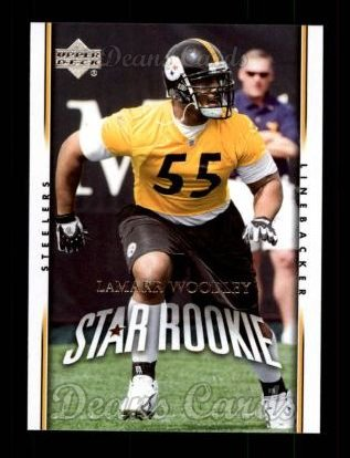 2007 Upper Deck #256  LaMarr Woodley