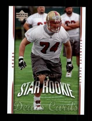 2007 Upper Deck #261  Joe Staley