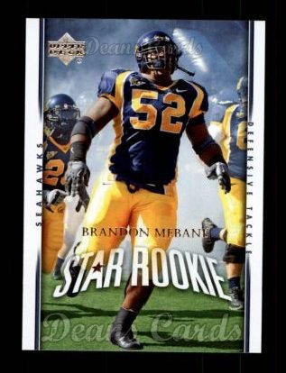 2007 Upper Deck #264  Brandon Mebane