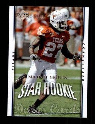 2007 Upper Deck #270  Michael Griffin