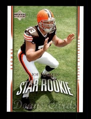 2007 Upper Deck #295  Joe Thomas