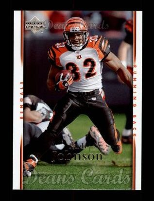 2007 Upper Deck #38  Rudi Johnson