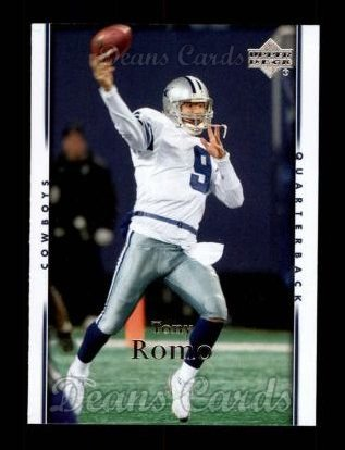 2007 Upper Deck #51  Tony Romo