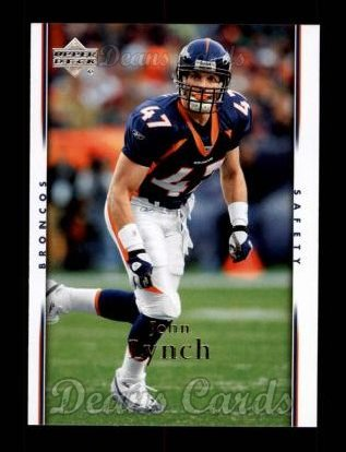 2007 Upper Deck #55  John Lynch