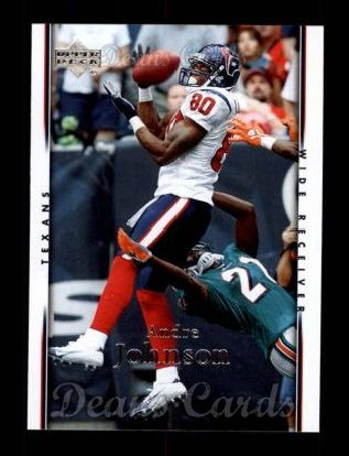 2007 Upper Deck #74  Andre Johnson