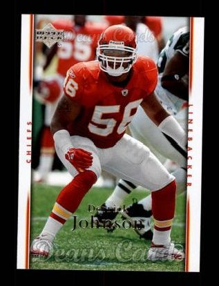 2007 Upper Deck #92  Derrick Johnson