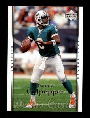 2007 Upper Deck #98  Daunte Culpepper