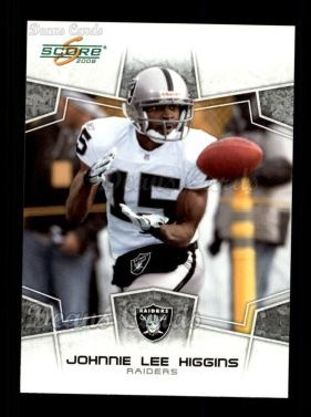 2008 Score #235  Johnnie Lee Higgins