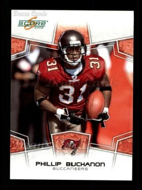 2008 Score #309  Phillip Buchanon