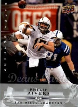 2008 Upper Deck First Edition #117  Philip Rivers