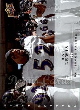 2008 Upper Deck First Edition #14  Ray Lewis