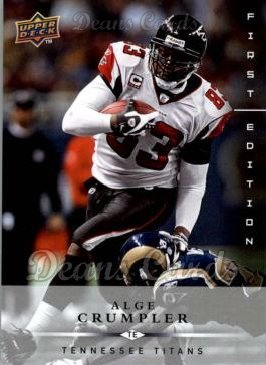 2008 Upper Deck First Edition #145  Alge Crumpler