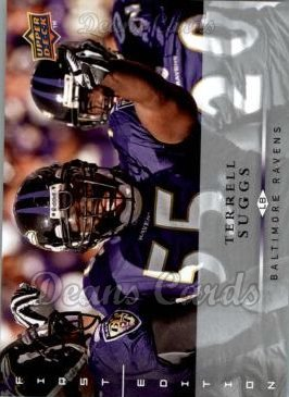 2008 Upper Deck First Edition #15  Terrell Suggs