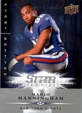 2008 Upper Deck First Edition #177  Mario Manningham