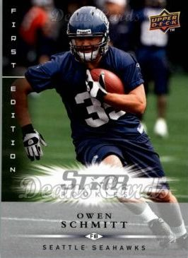 2008 Upper Deck First Edition #183  Owen Schmitt