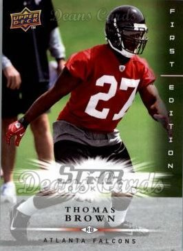 2008 Upper Deck First Edition #195  Thomas Brown