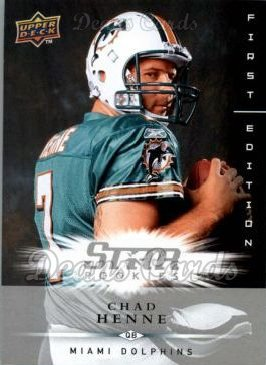 2008 Upper Deck First Edition #204  Chad Henne