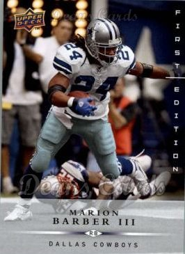 2008 Upper Deck First Edition #39  Marion Barber