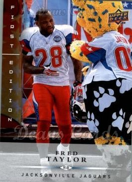 2008 Upper Deck First Edition #72  Fred Taylor