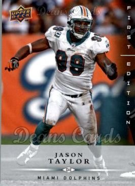 2008 Upper Deck First Edition #78  Jason Taylor