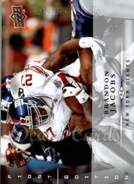 2008 Upper Deck First Edition #98  Brandon Jacobs