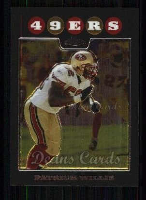 2008 Topps Chrome #113  Patrick Willis