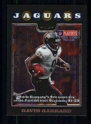 2008 Topps Chrome #159  David Garrard
