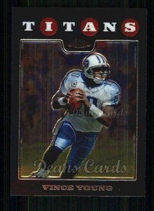 2008 Topps Chrome #24  Vince Young