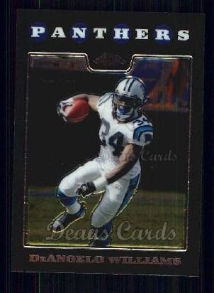2008 Topps Chrome #56  DeAngelo Williams