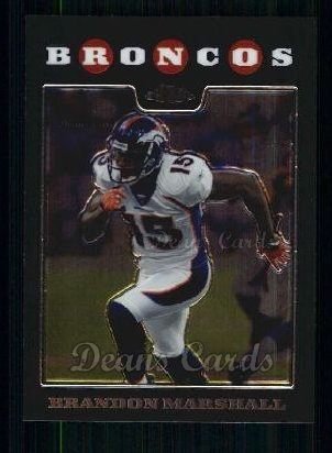 2008 Topps Chrome #79  Brandon Marshall