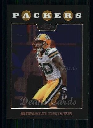2008 Topps Chrome #80  Donald Driver