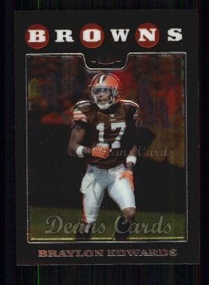 2008 Topps Chrome #87  Braylon Edwards