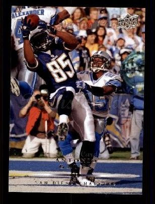 2008 Upper Deck #155  Antonio Gates
