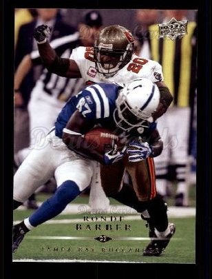2008 Upper Deck #181  Ronde Barber