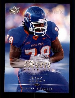 2008 Upper Deck #284  Ryan Clady