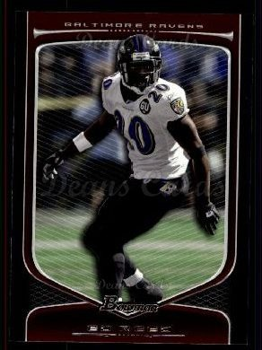 2009 Bowman Draft Platinum #92  Ed Reed