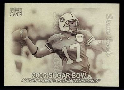2009 Topps Magic Thrills #9 MT  -  Jason Campbell 2005 Sugar Bowl
