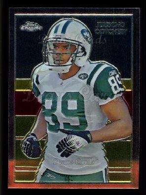 2009 Topps Chrome Chicle #66 C Jerricho Cotchery
