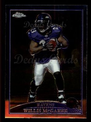 2009 Topps Chrome #108  Willis McGahee