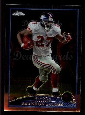 2009 Topps Chrome #68  Brandon Jacobs