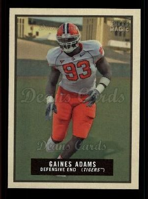 2009 Topps Magic #43  Gaines Adams