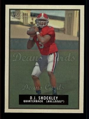 2009 Topps Magic #80  D.J. Shockley