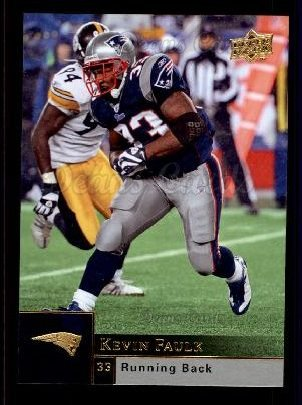 2009 Upper Deck #119  Kevin Faulk